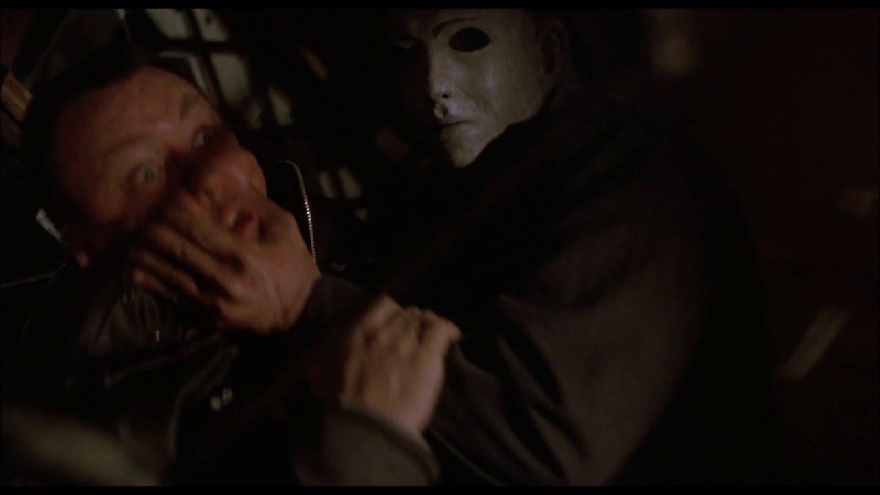 Michael Myers Hangs a Cop (Charlie) Halloween 5