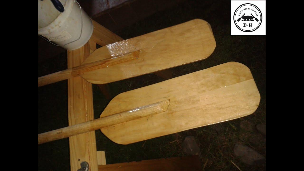 Fabricando remos de madera youtube for Como fabricar un bar de madera