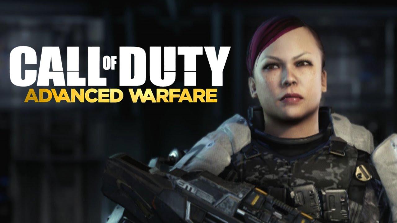 Advanced Warfare Character Customization Making My Wife In Cod Aw Youtube