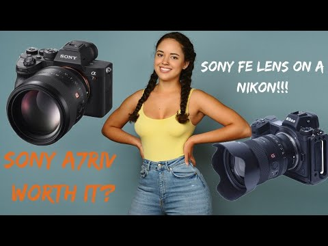 Live In The Struggio.. Let's Chat About The Sony A7RIV, Sony Lenses On A Nikon Z6 And The JL Drama