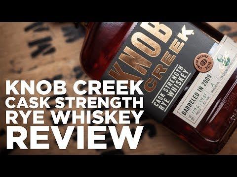 Review: Knob Creek Cask Strength Rye Whiskey