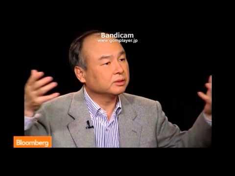 SoftBank CEO Masayoshi Son  3/4