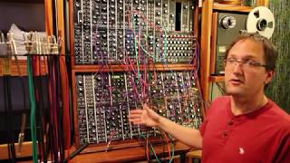 Modular Synth - Sequencer Ratcheting with a VC ADSR envelope