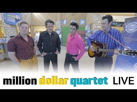 Million Dollar Quartet   Branson Missouri   Webcam Show