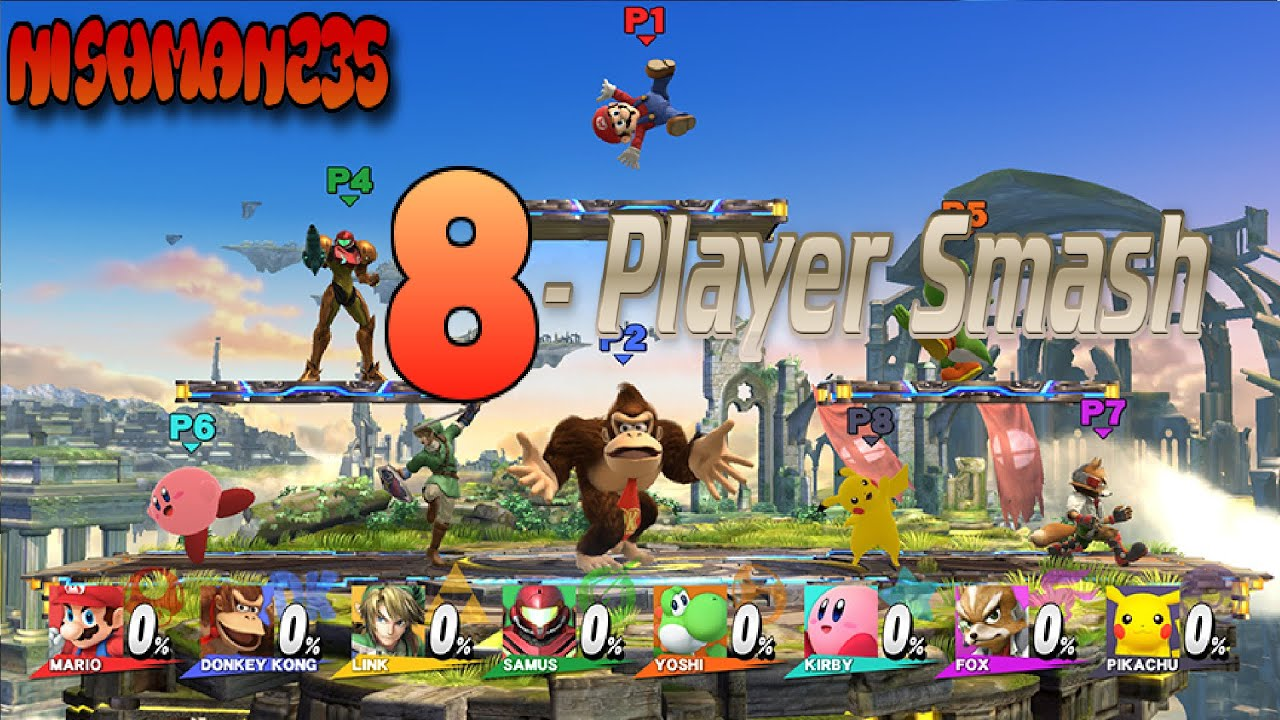 Mewkwota Super Smash Bros 4: Super Smash Bros. 4 Wii U 8-Player Smash (8 ORIGINAL