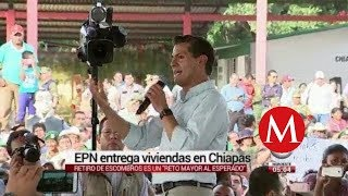 "Restaurar Chiapas es un ""reto mayor"": Peña Nieto"
