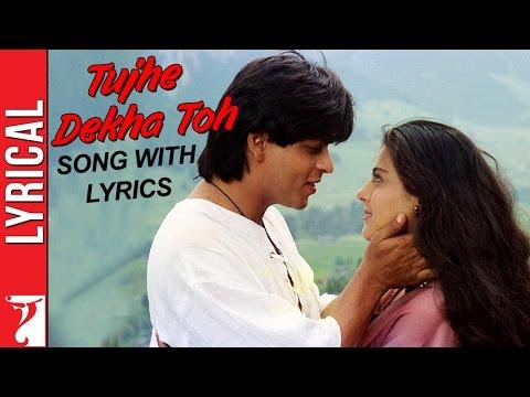 Lyrical: Tujhe Dekha Toh Song With Lyrics | Dilwale Dulhania Le Jayenge | Anand Bakshi