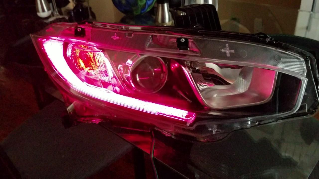 Morimoto RGB LED Strips - YouTube