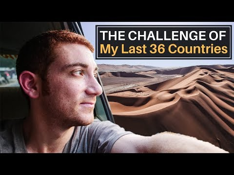 The Challenge of my Last 36 Countries (MONEY, FLIGHTS, VISAS)