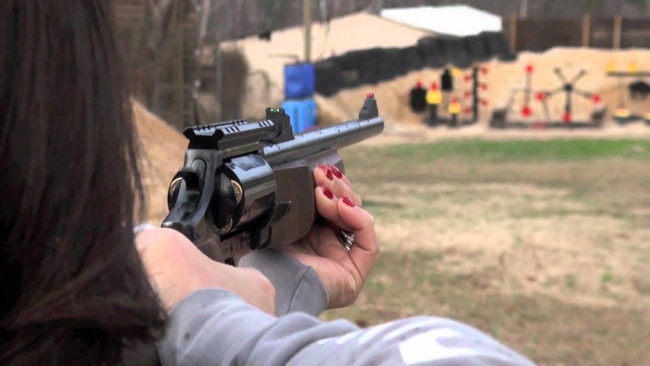 Kay Shooting The Rossi Taurus Circuit Judge Rifle/Shotgun