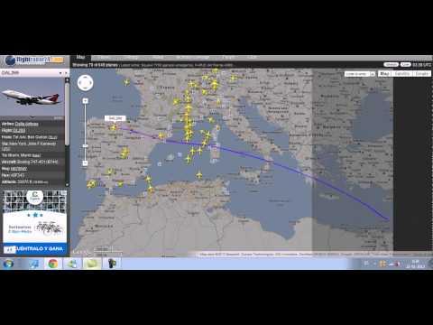 Delta Airlines Flight 269 From Tel Aviv-Yafo To New York JFK USA