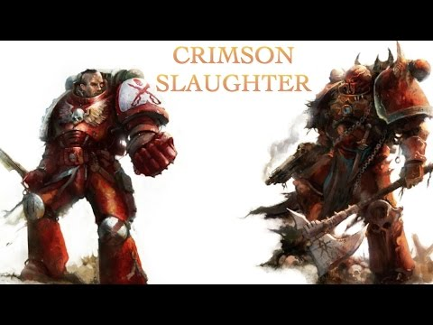 40 Facts & Lore On The Crimson Slaughter Chaos Space Marines Warhammer 40K