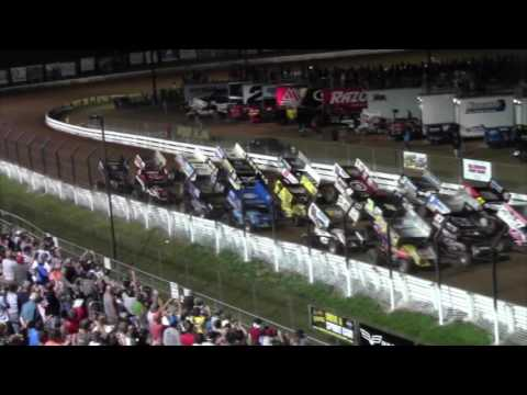 Williams Grove Speedway World of Outlaws Highlights 7-24-16