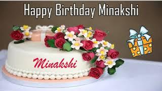 Happy Birthday Minakshi Image Wishes✔