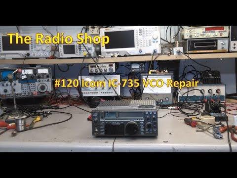 #120 ICOM IC 735 VCO Repair