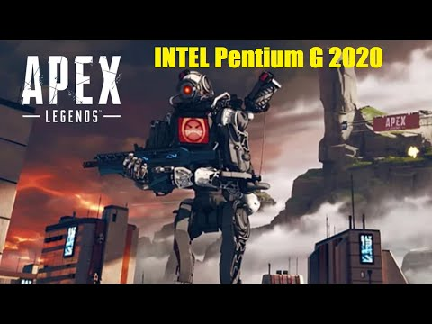 Apex Legends. FPS Test Intel Pentium G2020 (Nvidia GeForce GTX 1050)
