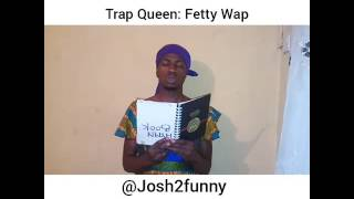 This video made the president laugh! Trap Queen by Fetty wap Remixed by Josh2funny