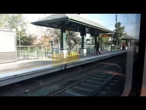 Los Angeles Metro Gold Line ride from Atlantic to Sierra Madre Villa station.
