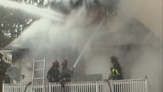 Raw: Arson Probe Launched in Ohio Fire
