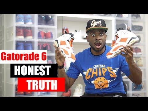 Honest Truth About Gatorade Jordan 6