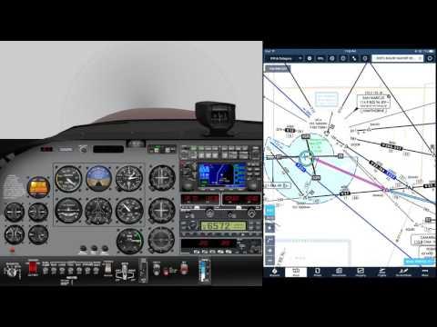 SBA-OXR, X-Plane 11, PilotEdge ATC