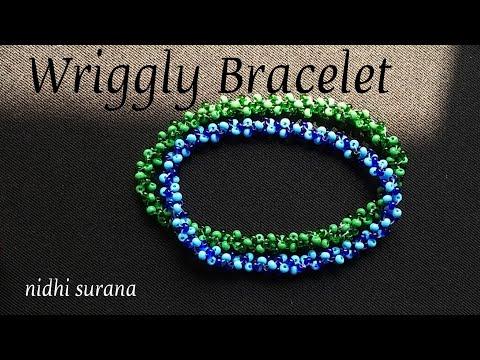 💕 Delicate Seed Bead Bracelet (0225)