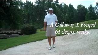 Golf Instuction - Guru TV -  Steep Bunker Shot