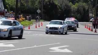 Funeral Procession For A Fallen Officer - 6 Miles Long - Deputy Robert Paris - Modesto, California