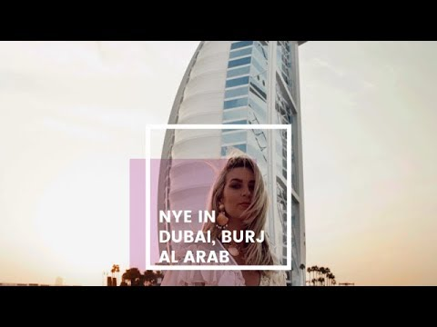NYE IN DUBAI | STAYING AT BURJ AL ARAB | IAM CHOUQUETTE