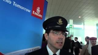Declaraciones de Felipe Santos, primer oficial de A380 de Emirates