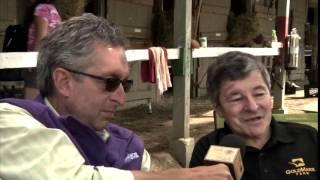 Gary Contessa, Interviewing the Legendary Jockey, Jean Cruguet