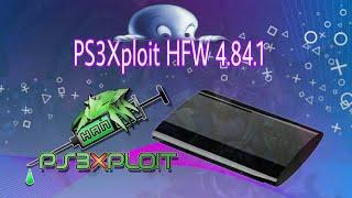 New PS3xploit 4.84.1 (HFW PS3)