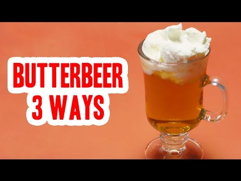 Fantastic Feasts: Butterbeer 3 Ways
