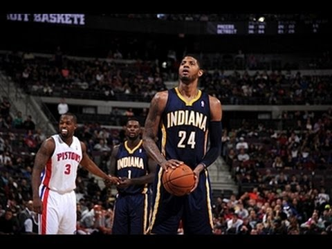 Paul George Leads the Pacers' 25-Point Comeback in Detroit