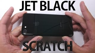 Jet Black iPhone 7 - SCRATCH TEST!(, 2016-09-17T03:32:29.000Z)