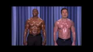 Nip Syncing Jimmy Fallon  and Terry Crews with Paul McCartney and Stevie Wonder Ebony And Ivory