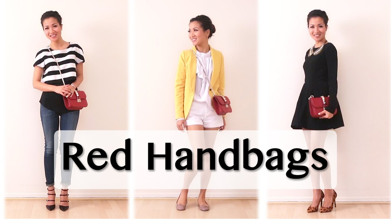 Red Handbag Pairings - YouTube