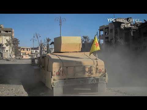 The last battle of the YPG-led SDF inside Raqqa
