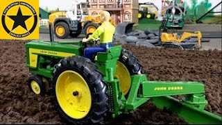 BRUDER TRACTORs for Children FARM WORLD all machinery in! PART 1