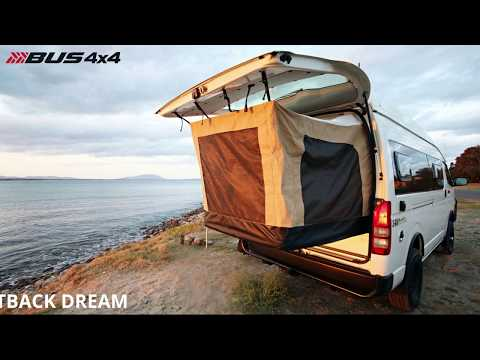 Australia makes a brilliant campervan with pop-out bed tent