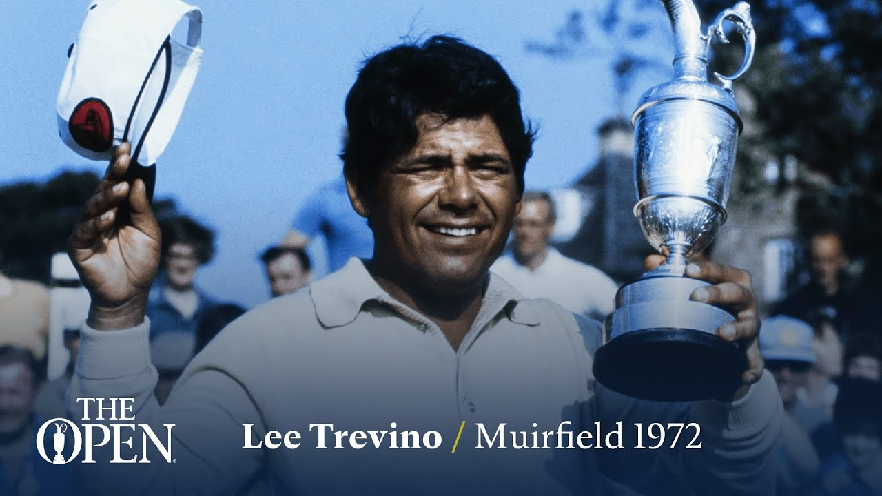 Lee Trevino wins at Muirfield   The Open Official Film 1972
