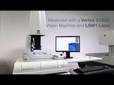 Micro-Vu Measuring Parts for the Medical Industry #113