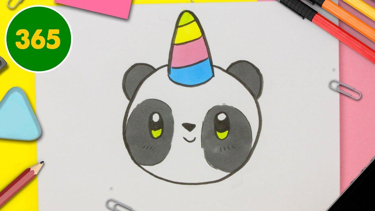 Bébé Panda Kawaii Dessin Panda