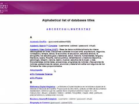Library Databases Proquest Dissertation and Thesis