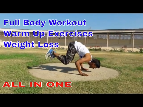 Warm Up Body Without Gym, Full Body Workout no Gym & Weight Loss Exercises