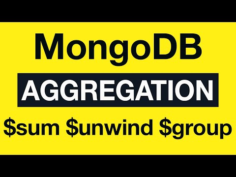 36 Aggregation Example 18 $sum, $unwind and $group - MongoDB