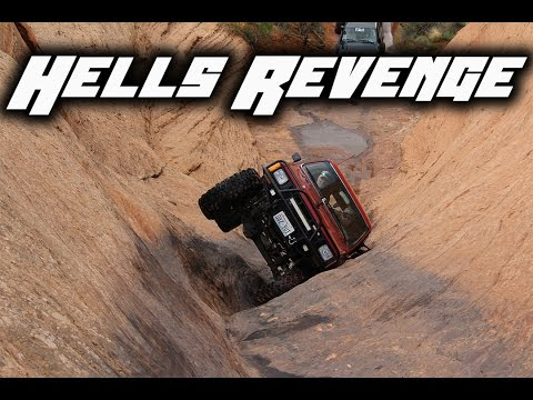 Hells Revenge - Moab 2016