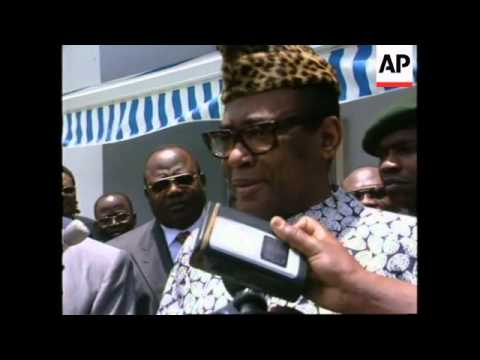 ZAIRE: PRESIDENT MOBUTU SESE SEKO MAY RUN FOR ANOTHER TERM