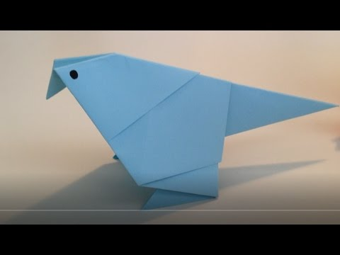 Little Bird by Satoshi Kamiya, folded by me : origami | 360x480