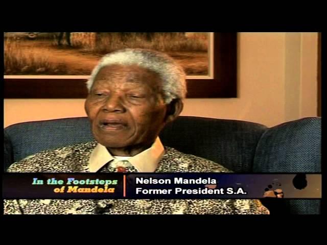 Nelson R. Mandela's Long Walk to Freedom